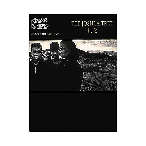 Hal Leonard U2 The Joshua Tree Guitar Tab Book