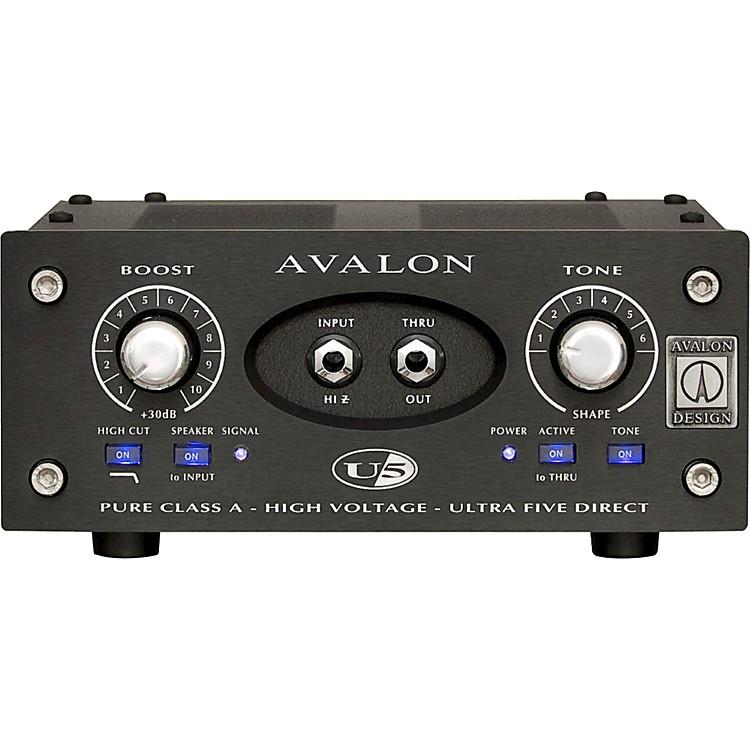 AvalonU5 Direct Box Instrument Preamplifier - 15th Anniversary