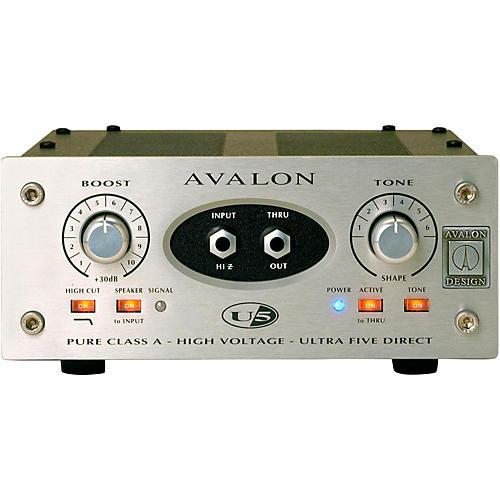 Avalon U5 Pure Class A Mono Instrument DI-Preamplifier-thumbnail