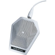 Audio-Technica U851RW UniPoint Cardioid Condenser Boundary Microphone Level 1 White