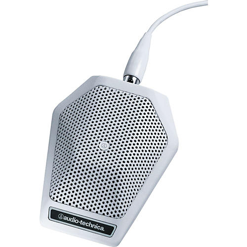 Audio-Technica U851RW UniPoint Cardioid Condenser Boundary Microphone White
