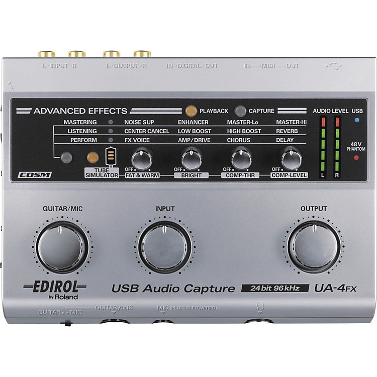Edirol UA-4FX USB Audio Capture Interface
