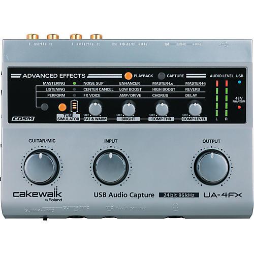 Cakewalk UA-4FX USB Audio Interface with FX-thumbnail