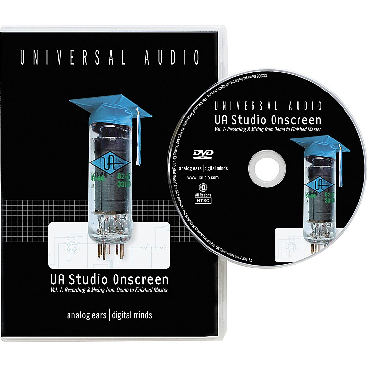 Universal Audio UA Studio Onscreen Vol. 1 DVD