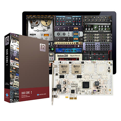 Universal Audio UAD-2 DUO Core PCIe DSP Accelerator Package-thumbnail
