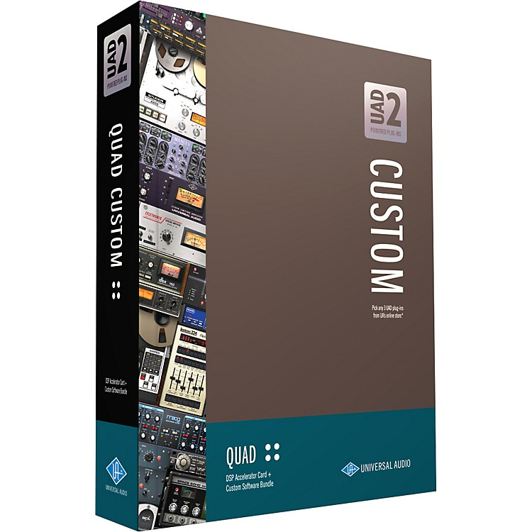 Universal Audio UAD-2 QUAD Custom PCIe DSP Accelerator Package