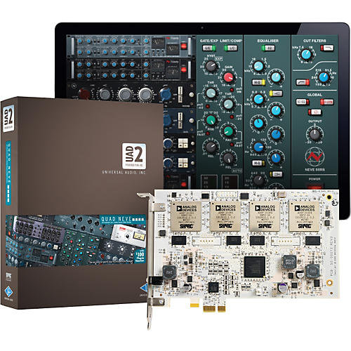 Universal Audio UAD-2 Quad Neve DSP Accelerator-thumbnail