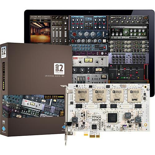 Universal Audio UAD-2 Quad Omni (v 5.7) DSP Accelerator Card with Omni Plug-In Bundle-thumbnail