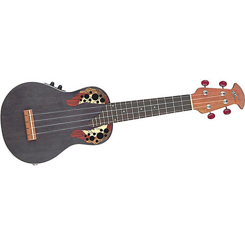 Applause UAE20 Acoustic-Electric Deluxe Soprano Ukulele-thumbnail