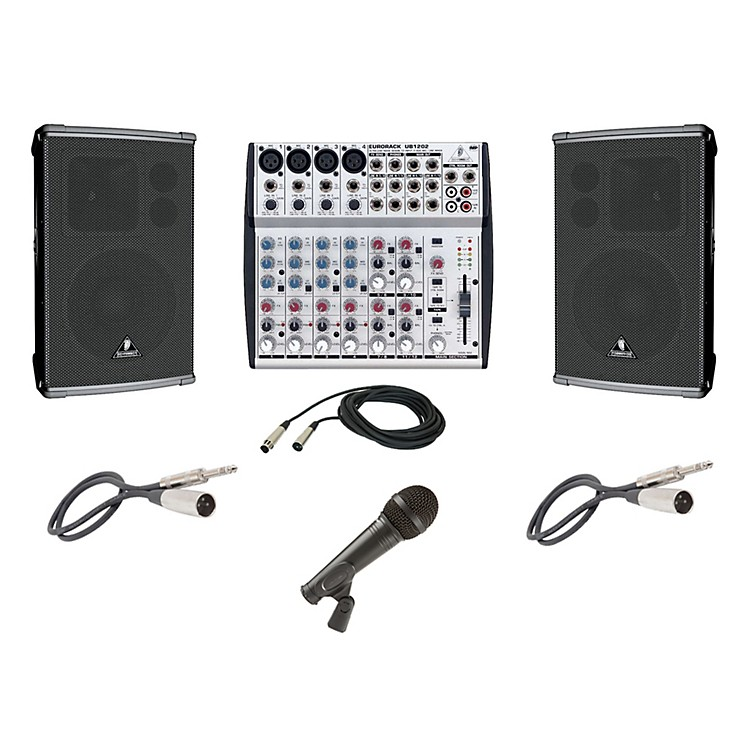 Behringer UB1202 / B1220DSP PA Package