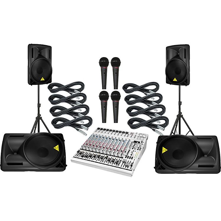 BehringerUB2442FX / B215D Mains & Monitors Package