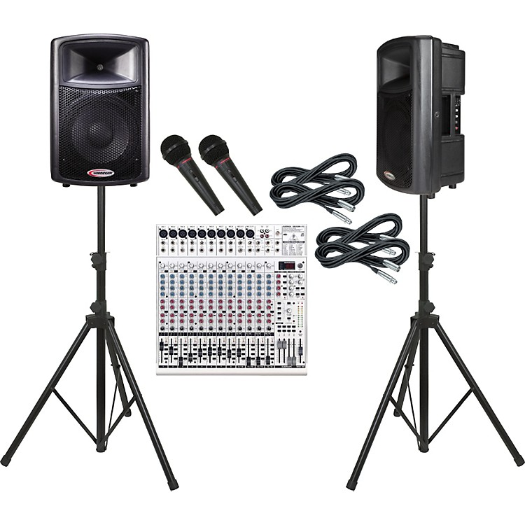 Behringer UB2442FX / Harbinger APS12 PA Package