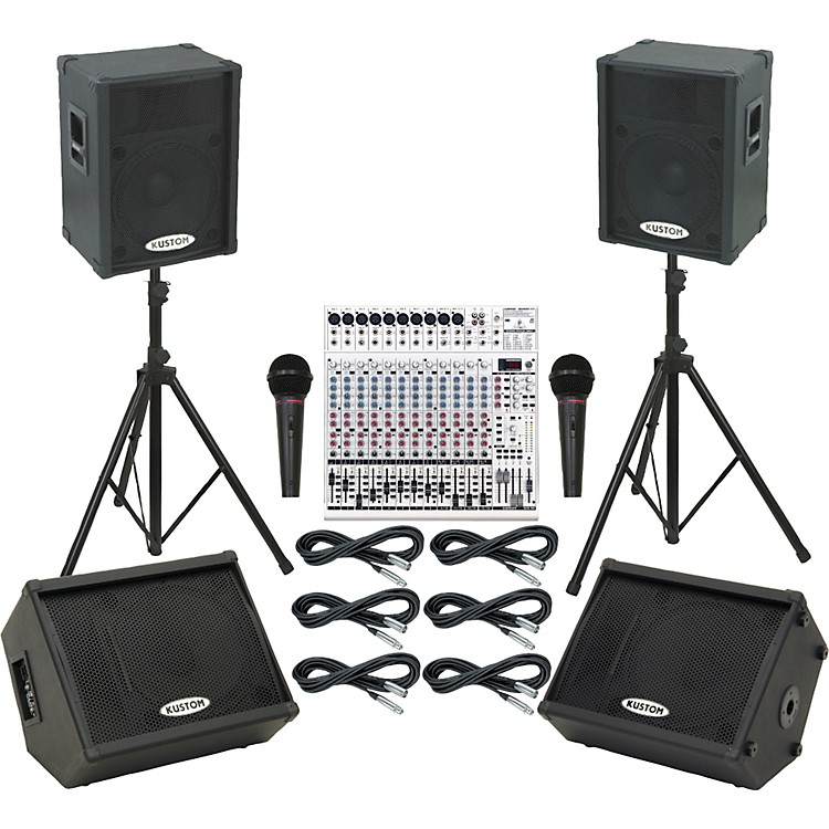Behringer UB2442FX / KPC15P Mains & Monitors Package