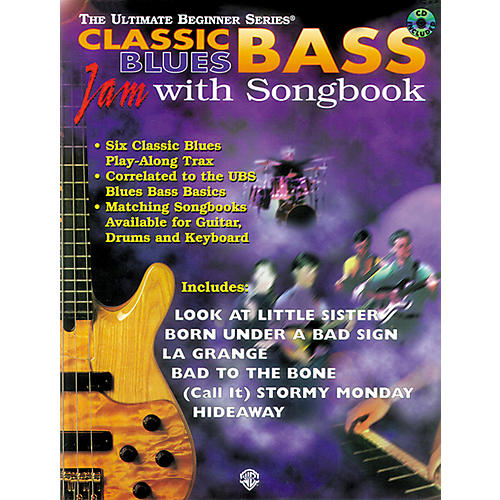 Alfred UBS Classic Blues Bass Jam (Book/CD)