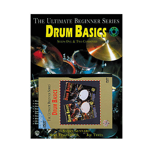 Alfred UBS Rock Drum Basics MegaPak (Book/DVD/CD)