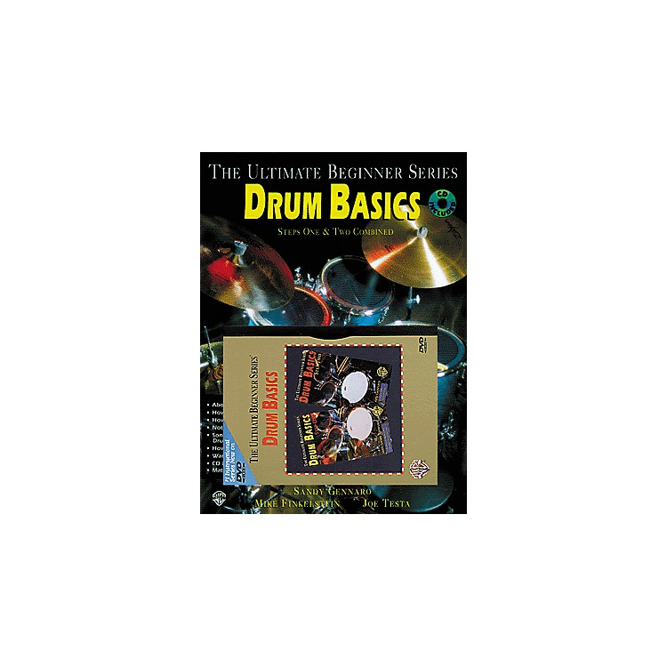 Alfred UBS Rock Drum Basics MegaPak (Book/DVD/CD)