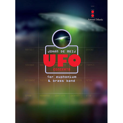 Amstel Music UFO Concerto (for Euphonium and Brass Band) Concert Band Level 5 Composed by Johan de Meij-thumbnail