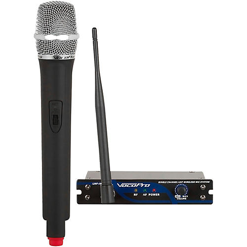 VocoPro UHF-18 Single Channel UHF Wireless Mic System Band 9