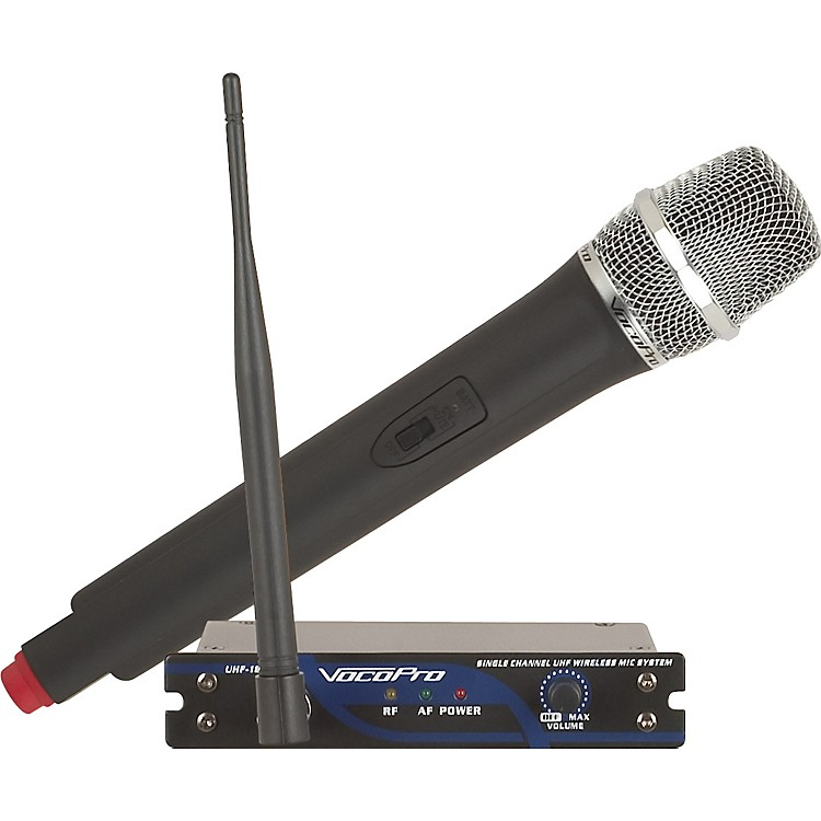 VocoPro UHF-18 Single Channel UHF Wireless Mic System Ch M