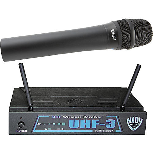 Nady UHF-3 Handheld Wireless System MU4/493.55
