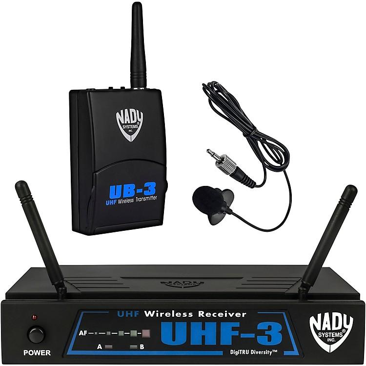 NadyUHF-3 Lavalier Wireless System