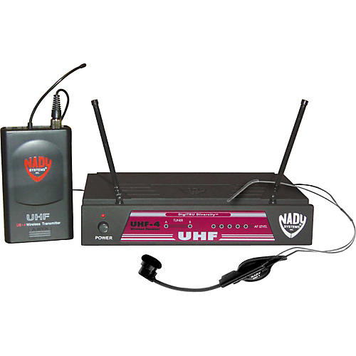 Nady UHF-4 LT/HM-1 (115) Headset Wireless System