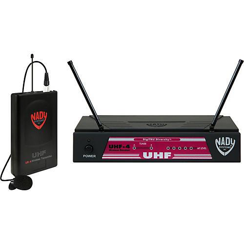 Nady UHF-4 Lavalier Wireless System Band 16
