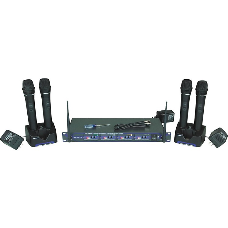 VocoProUHF-5805 Plus Rechargeable Wireless System with Mic BagCH 3