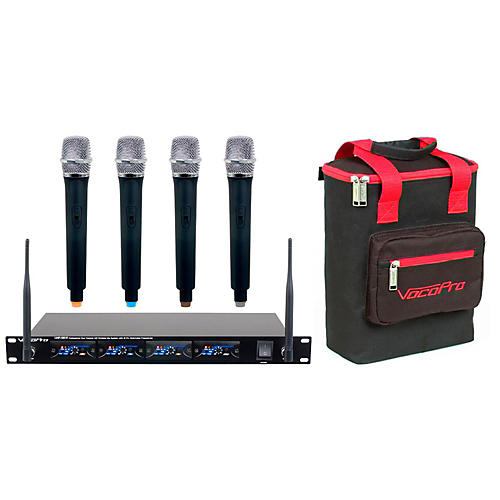 VocoPro UHF-5816PLUS 4-Channel Wireless System