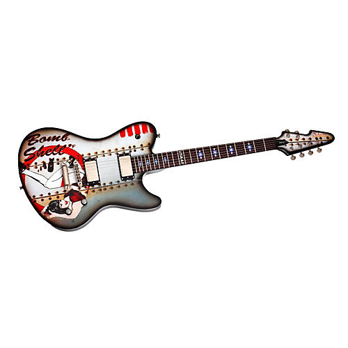 Schecter Guitar Research ULTRA B-17 BOMBSHELL Electric Guitar