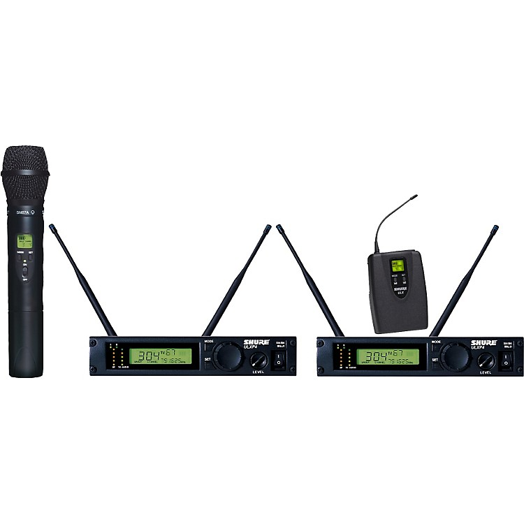ShureULXP124/87 Dual Channel Mixed Wireless System