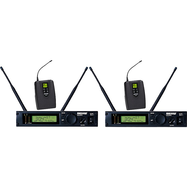 Shure ULXP14D Dual Guitar/Bass Wireless System J1