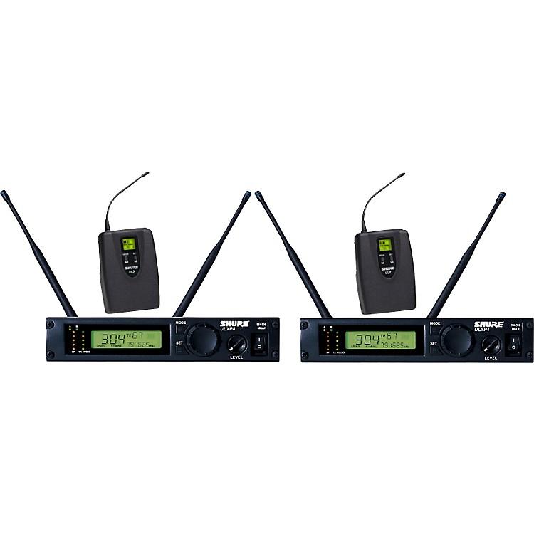 ShureULXP14D Dual Guitar/Bass Wireless System
