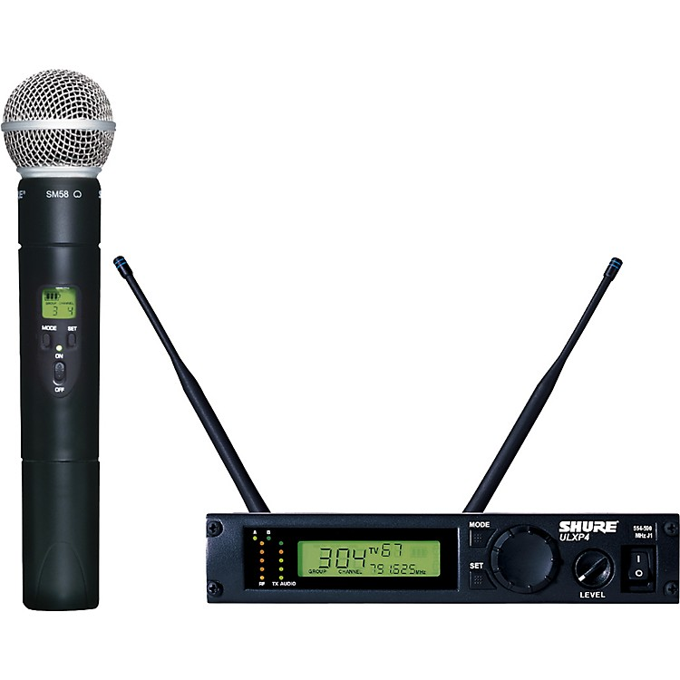 Shure ULXP24/58 Handheld Wireless Microphone System J1