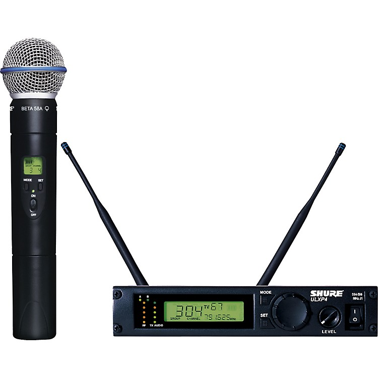 ShureULXP24/BETA58 Handheld Wireless Microphone SystemM1