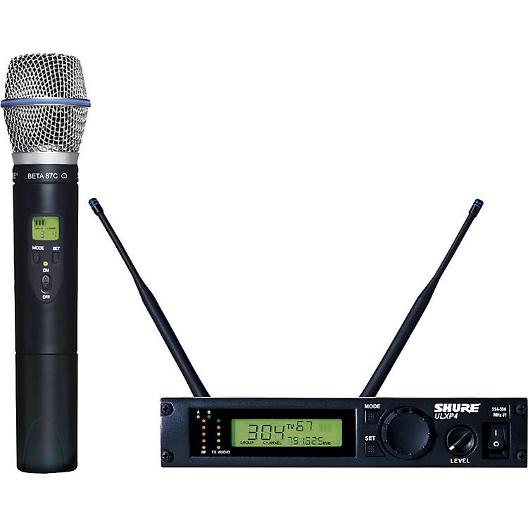 ShureULXP24/BETA87C Handheld Wireless Microphone System
