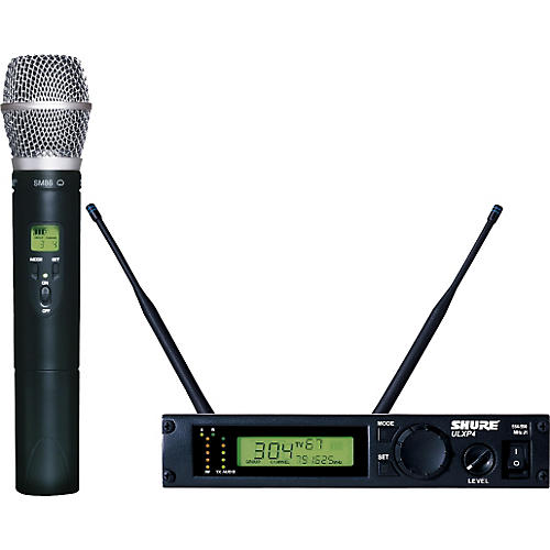 Shure ULXP24/SM86 Handheld Wireless Microphone System-thumbnail