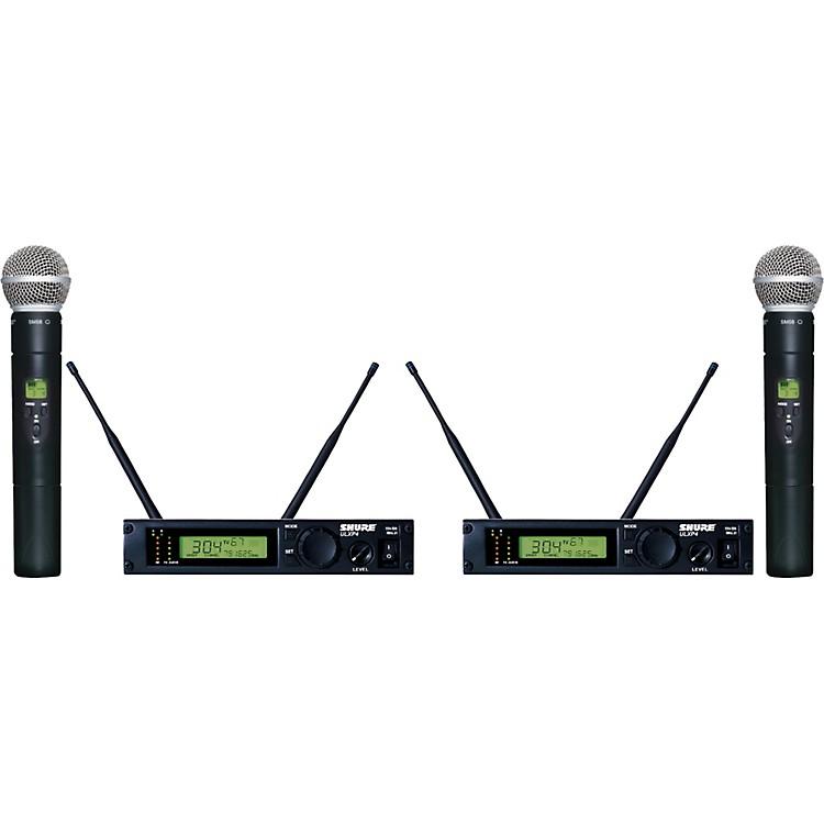 ShureULXP24D/58 Dual Handheld Wireless Microphone SystemM1