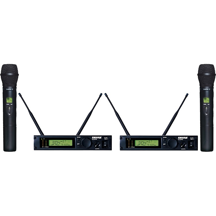 Shure ULXP24D/87 Dual Handheld Wireless Microphone System