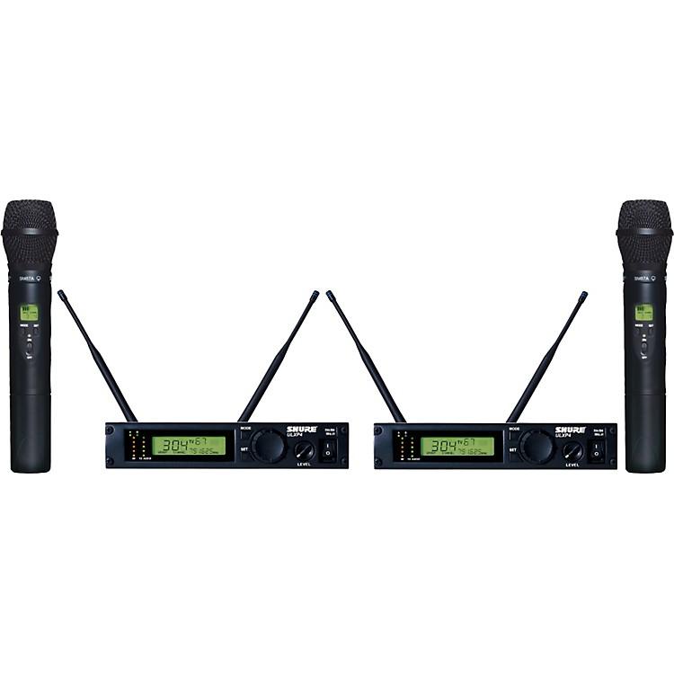 ShureULXP24D/87 Dual Handheld Wireless Microphone System