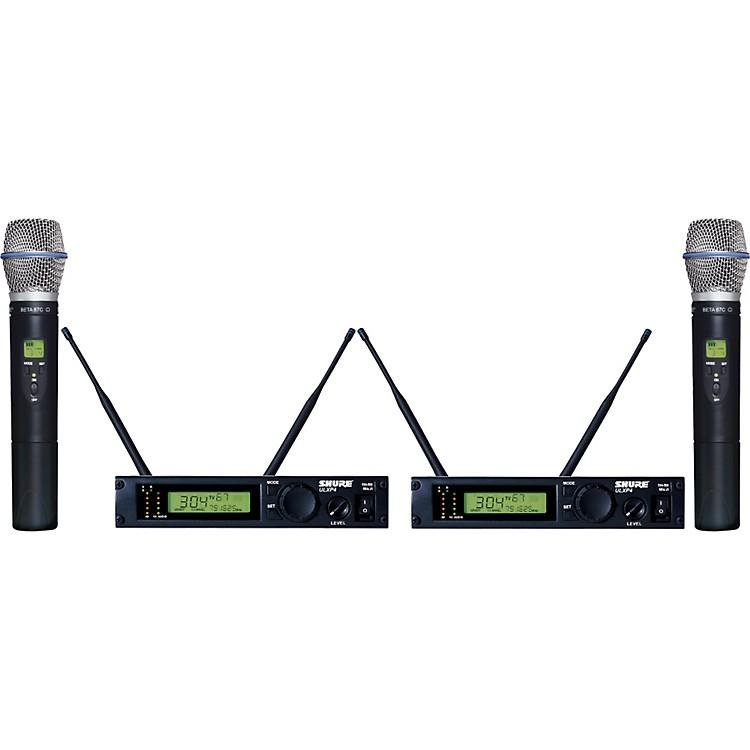 ShureULXP24D/BETA87C Dual Handheld Wireless Microphone System