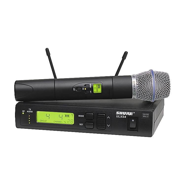 Shure ULXS Series/Beta 87A J1 Wireless Microphone System Black