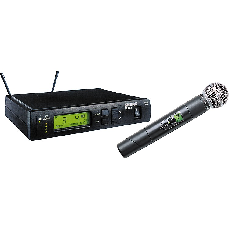 Shure ULXS24/58-SM58 Handheld Wireless System Channel M1