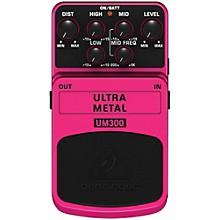 Behringer UM300 Ultra Metal Distortion Guitar Effects Pedal