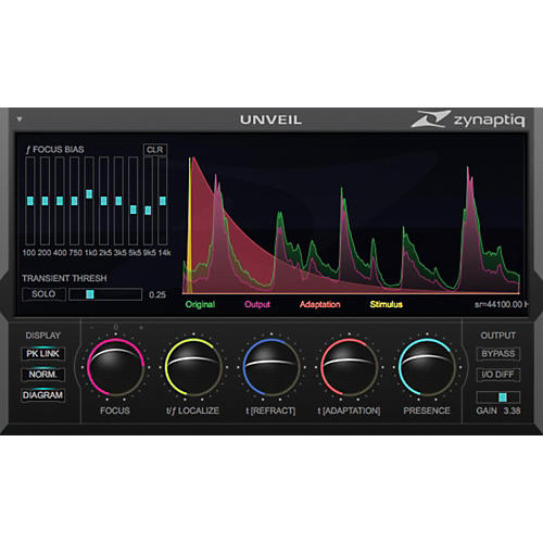 Zynaptiq UNVEIL Software Download