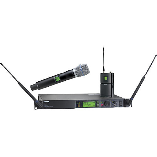 Shure UR124S/BETA87C Combo Wireless Instrument/Microphone System