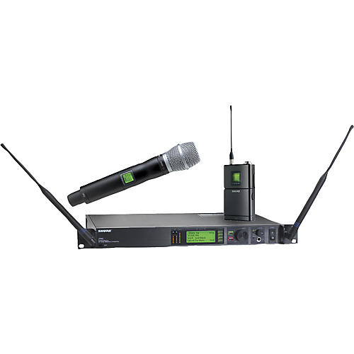 Shure UR124S/SM86 Combo Wireless Instrument/Microphone System