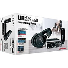 Steinberg UR22 MkII Recording Pack
