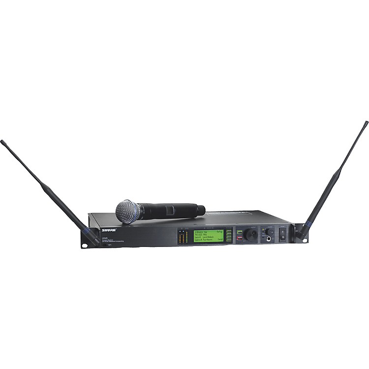 Shure UR24S/BETA58 Handheld Wireless Microphone System