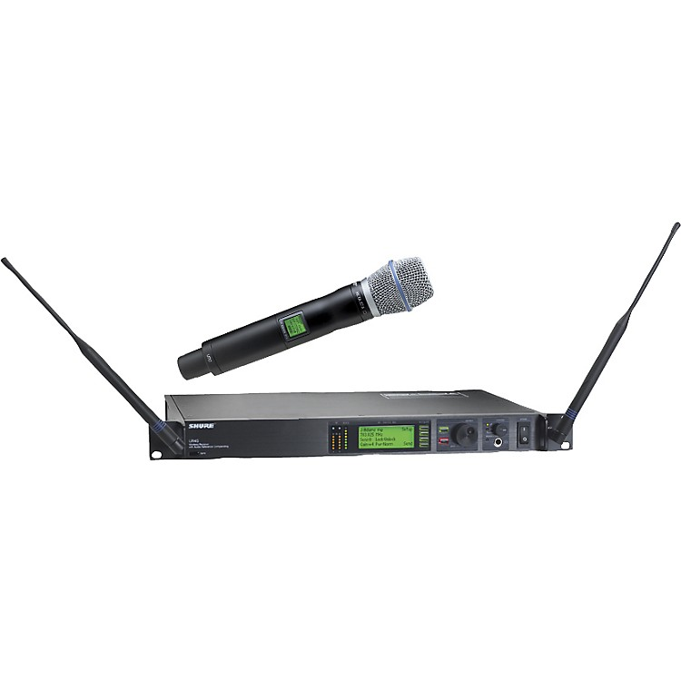 Shure UR24S/BETA87A Handheld Wireless Microphone System H4